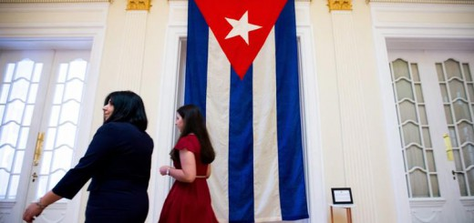 New era in ties begins as Cuba raises flag at U.S. embassy