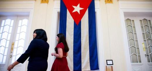 New era in ties begins as Cuba raises flag at U.S. embassy