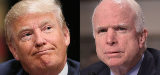 Donald Trump has sparked anger by attacking the military record of Senator John McCain,