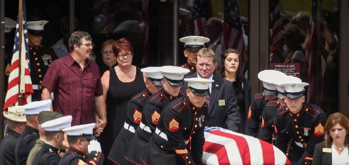 Wisconsin town says goodbye to Marine slain in Chattanooga