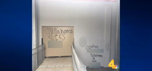 Tullahoma High School vandalized