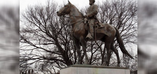 Nathan Bedford Forrest statue in Memphis vandalized