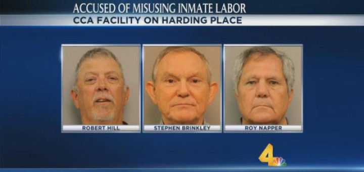 Three arrested for profiting on inmate labor – Coffee County TN