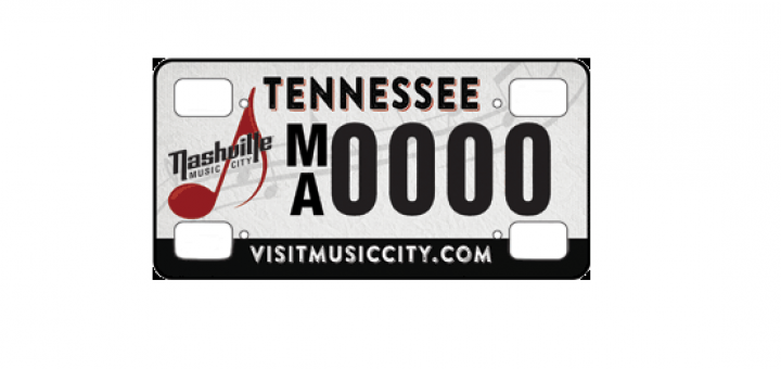 New Music City License Plate Presale