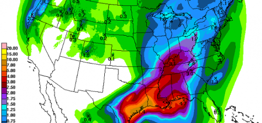 "Remnants of ""Patricia"" to bring rains to Middle TN next week"