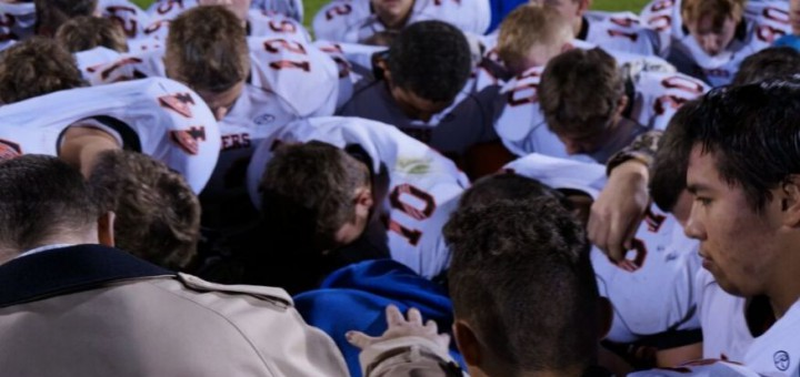 TODD STARNES Will football coach lose job for praying on field?