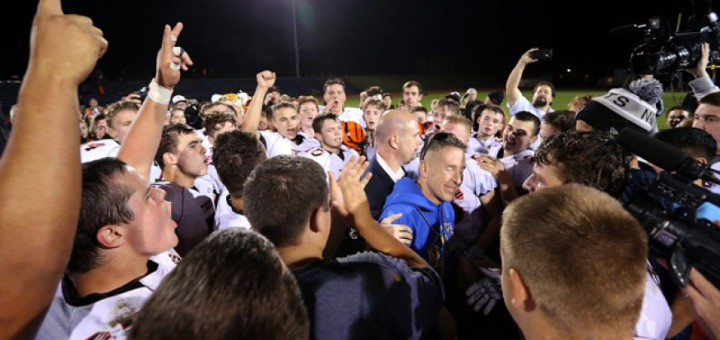 High school football coach put on leave for praying attends game, vows to fight 'to the end'