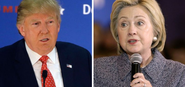 THE TRUMP CARD? Donald's attacks on Hillary could cut into GOP rivals