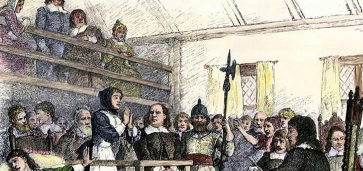 Salem wittch trials & hanging